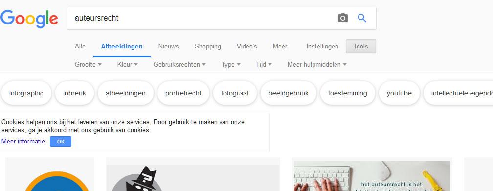 Google afbeeldingen zoeken